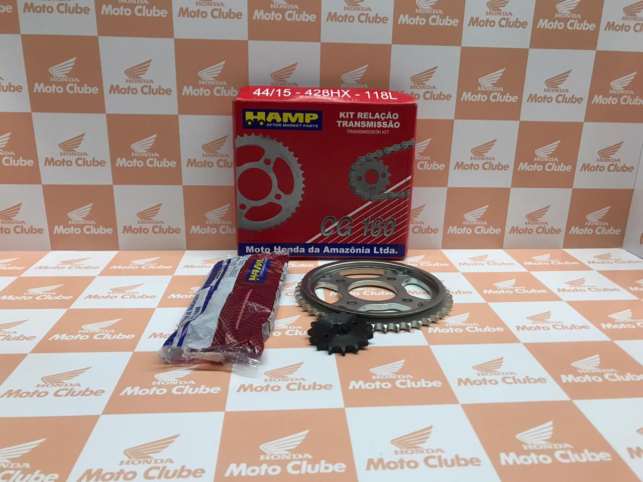 Kit Relação Transmissão CG 160 Original Honda H0640KVSP00