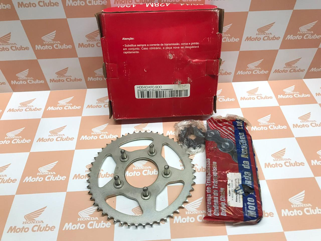 Kit Relação Transmissão XLR 125 Original Honda H0640KFC900