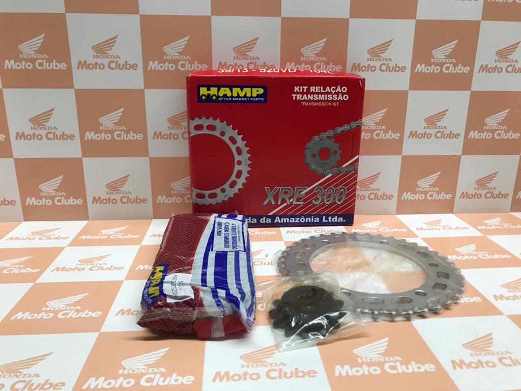 Kit Relação Transmissão XRE 300 Original Honda H0640KWT900