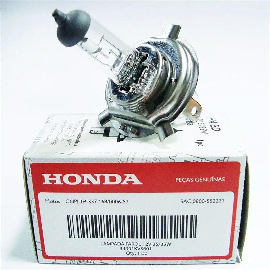 Lampada Farol Fan 125 Titan 150 Fan 150 Original Honda 34901KVS601