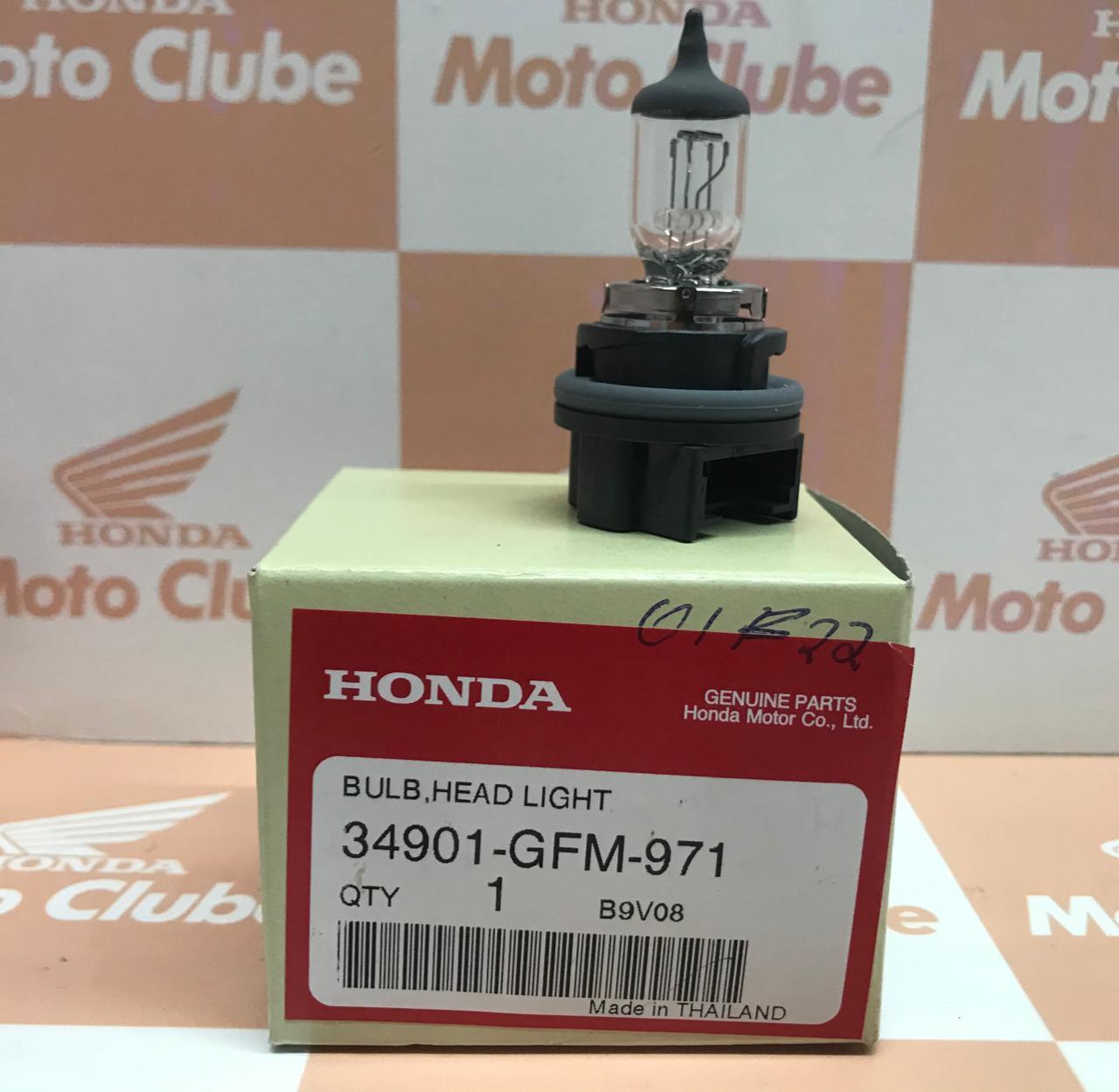 Lampada Farol PCX  LEAD Original Honda 34901GFM871