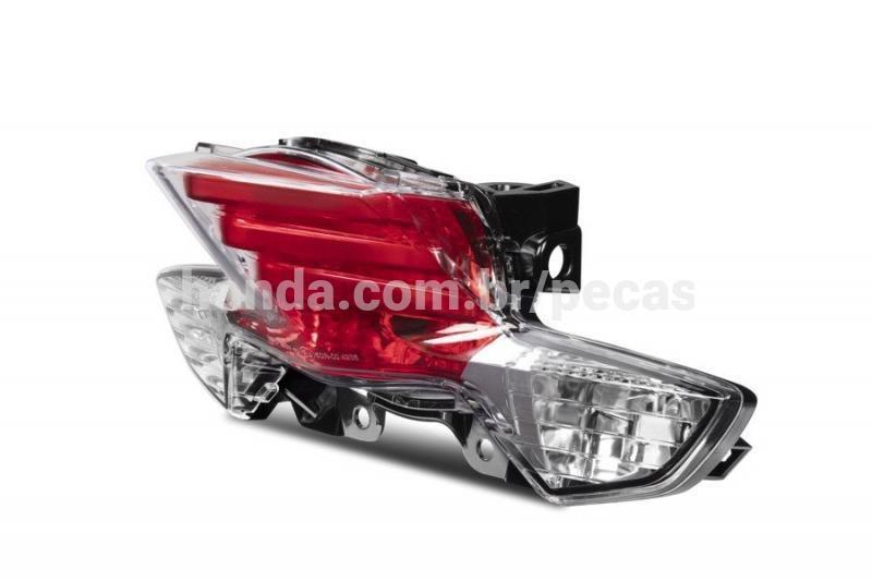Lente Lanterna Traseira BIZ 110 125 Original Honda 34901KSSJ31