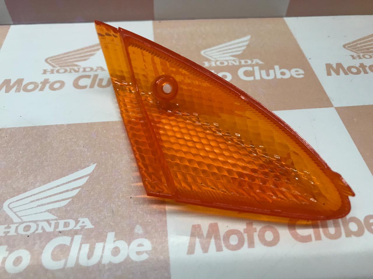 Lentes Sinaleiras Dianteira  Biz 100 Original Honda