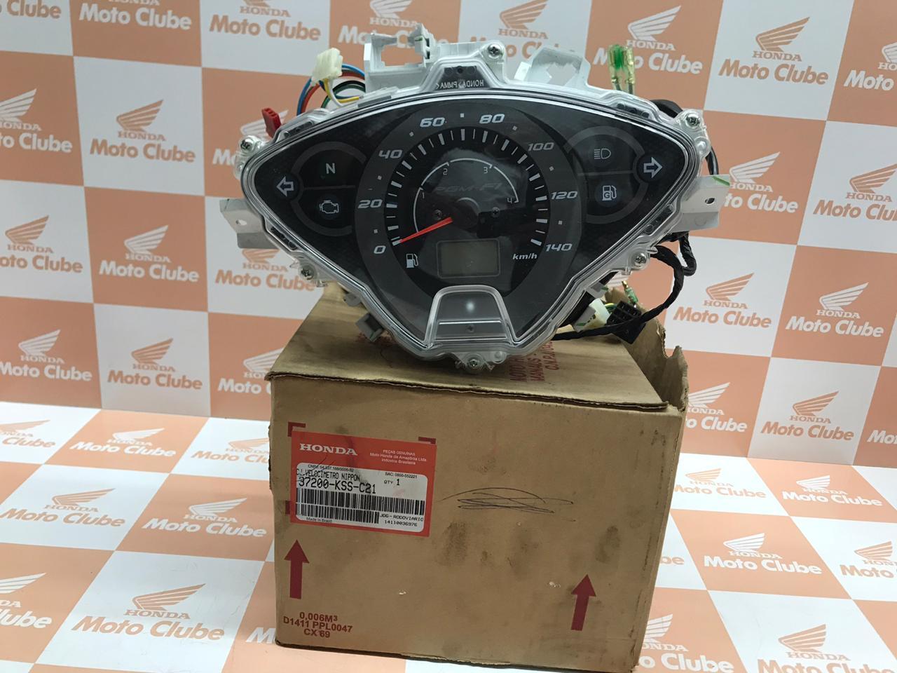 Painel de Intrumentos Biz 125 Ex  2011 a 2013 Original Honda 37200KSSC21