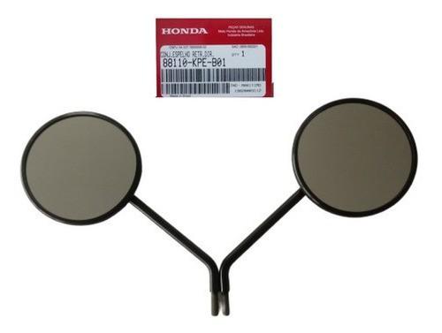 Par de Espelhos Retrovisores XR 250 Tornado 2001˜2008 Original Honda 88110KPEB01