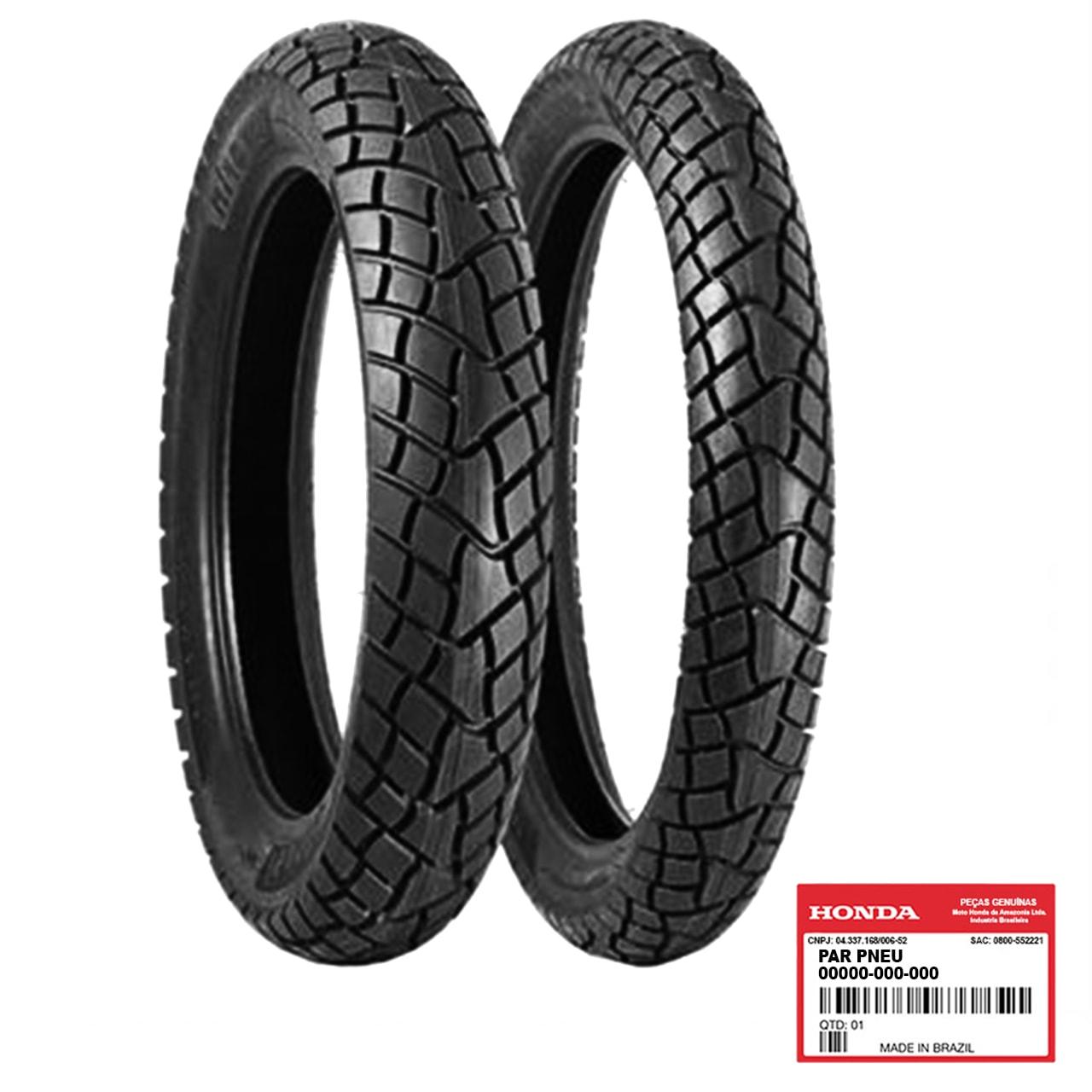 Par Pneu BROS 160 150 125 Pirelli