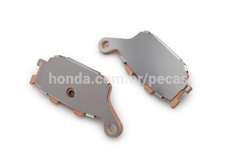 Pastilha de Freio Traseiro CB 300R  CB 600F CBR 600F  CRF 1000L NC 700X XL 700V  XRE 300 Original Honda 06435MEJ026