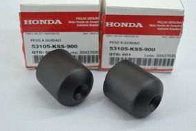 Pesos + Manoplas Biz 100/110/ 125 Original Honda