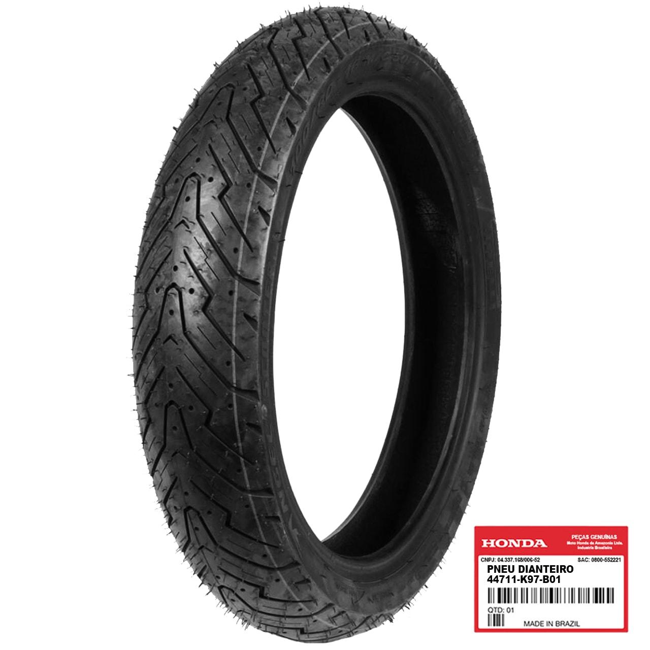 Pneu Dianteiro PCX 150 2019 2020 100/80-14 Pirelli 44711K97B01