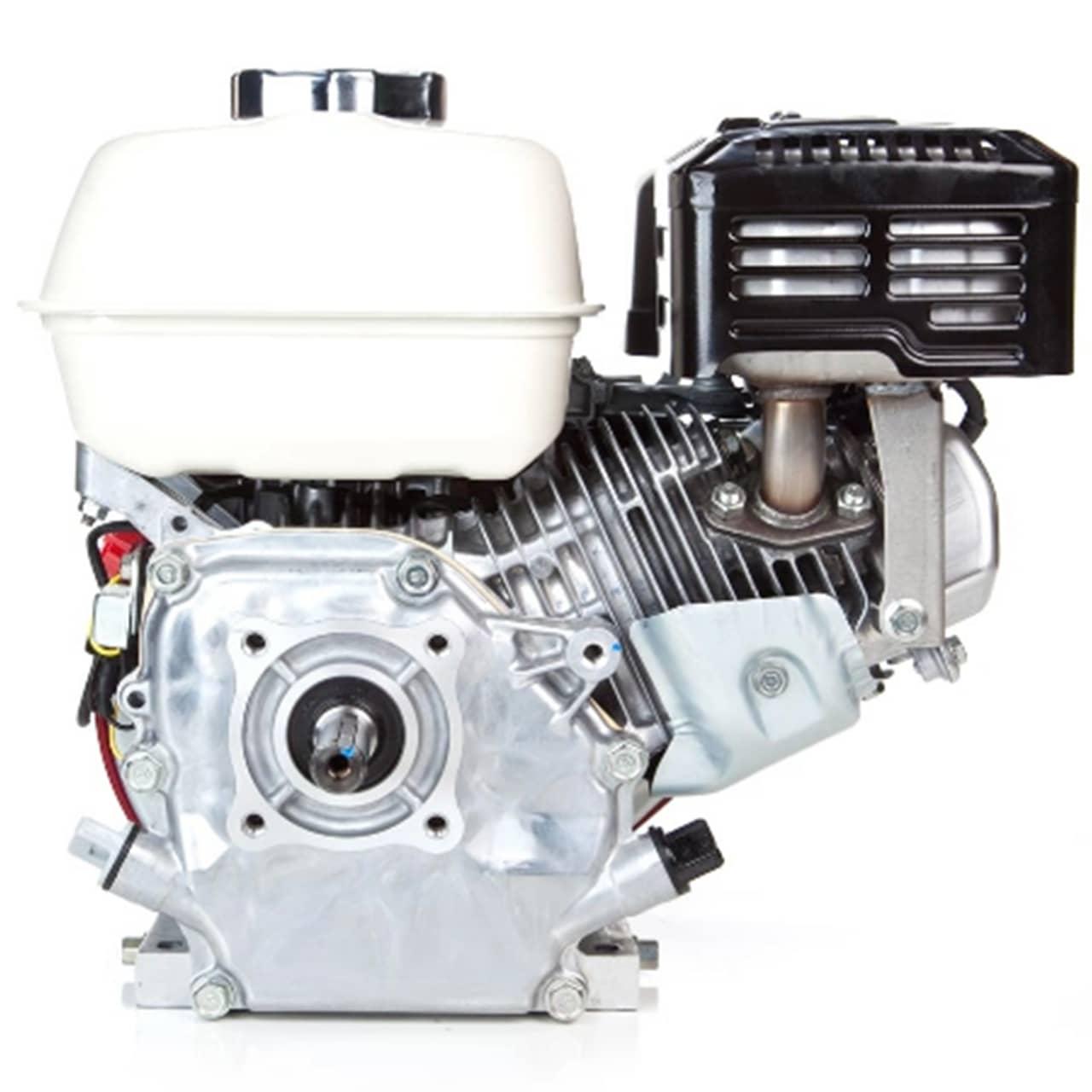 Rabeta Barco 2,0 M Com Motor Honda Gx 200 6.5 Hp Gasolina