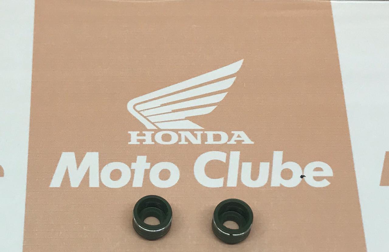 Retentor de Válvula Biz GC Titan Fan Pop PCX Lead Elite XRE CB300 CB Twister Bros SH 150i Tornado Original Honda 12209GB4682