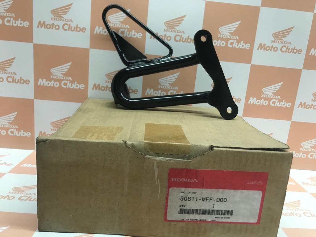Suporte Pedal de Apoio Traseiro Esquerdo XL700V Transalp Original Honda 50811MFFD00