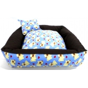 Cama Para Cães E Gatos Cão Shop 56X56Cm Tamanho M - 30