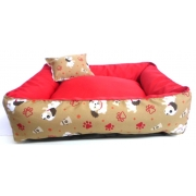 Cama Para Cães E Gatos Cão Shop 56X56Cm Tamanho M - 20
