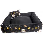Cama Para Cães E Gatos Cão Shop 56X56Cm Tamanho M - 21