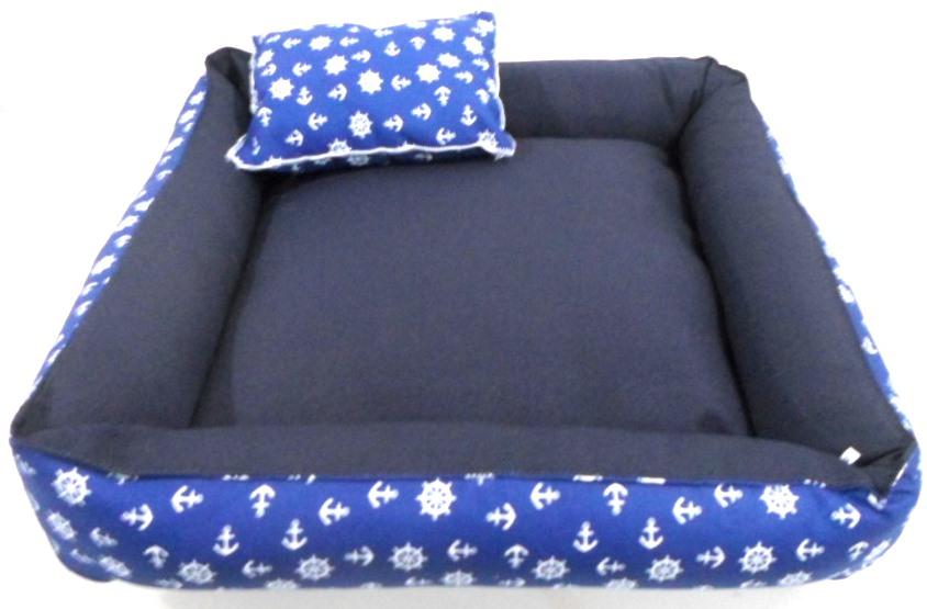 Cama Para Cães E Gatos Cão Shop 66X66Cm Tamanho GG - 6