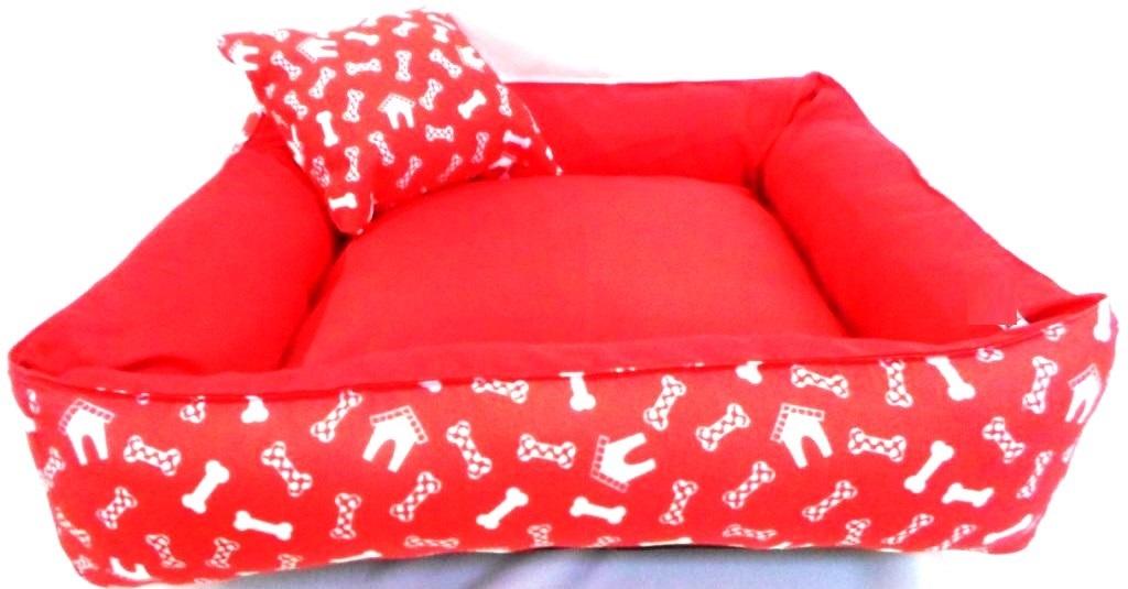 Cama Para Cães E Gatos Cão Shop 66X66Cm Tamanho GG - 12