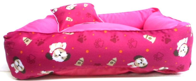 Cama Para Cães E Gatos Cão Shop 56X56Cm Tamanho M - 23