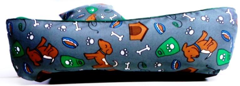 Cama Para Cães E Gatos Cão Shop 61X61Cm Tamanho G - 21
