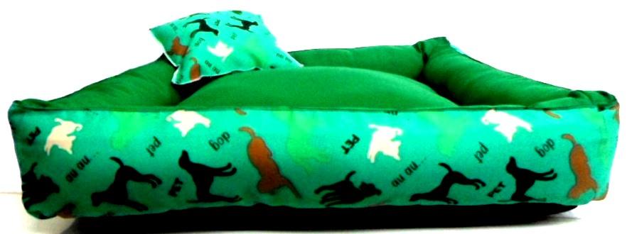Cama Para Cães E Gatos Cão Shop 66X66Cm Tamanho GG - 13