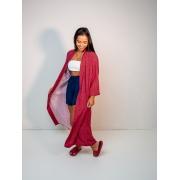 maxi kimono est. samambaia rosa