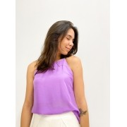 blusa ponteiras lilás
