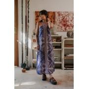 vestido est. lenços