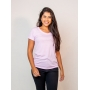 t-shirt malha eco - lilás