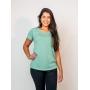 T-shirt Malha Eco - Verde
