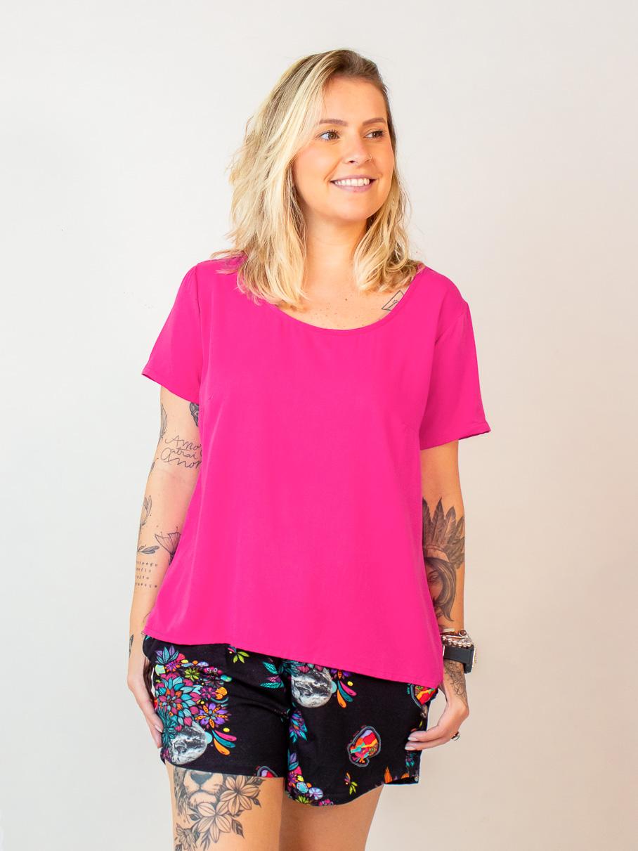 blusa vivi - rosa  - MUDI