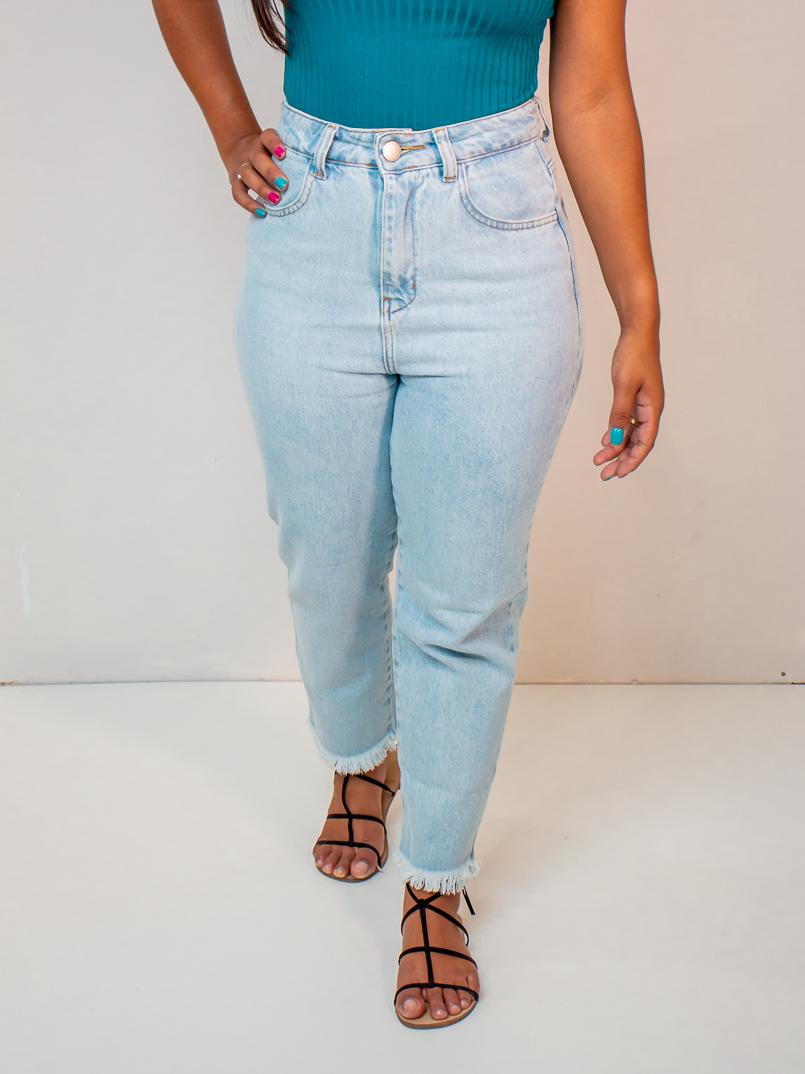 calça jeans babi clara