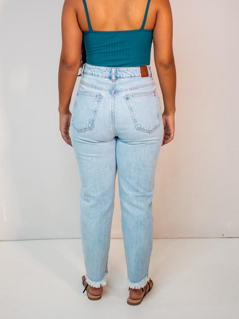 calça jeans babi clara  - MUDI