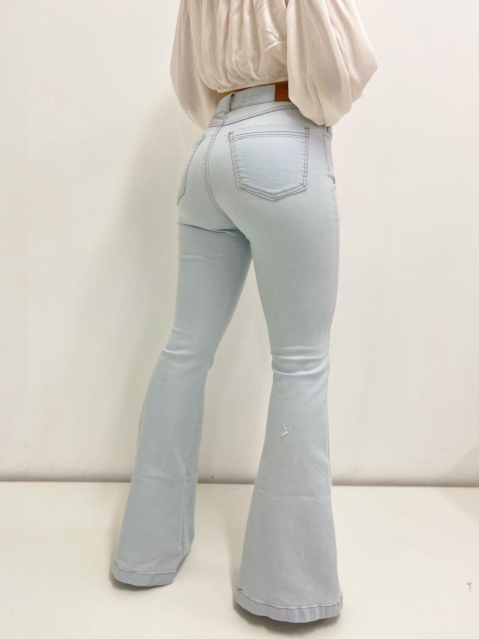 Calça jeans Manu Flare  - MUDI