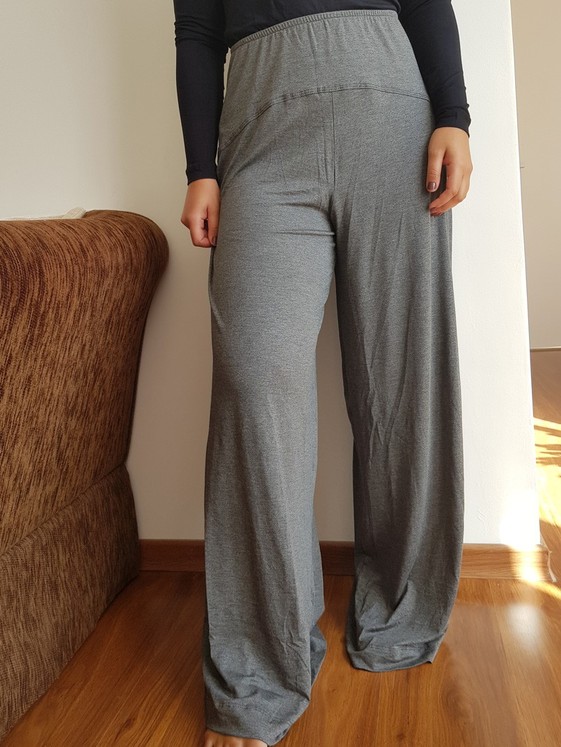 calça pantalona gabi - mescla