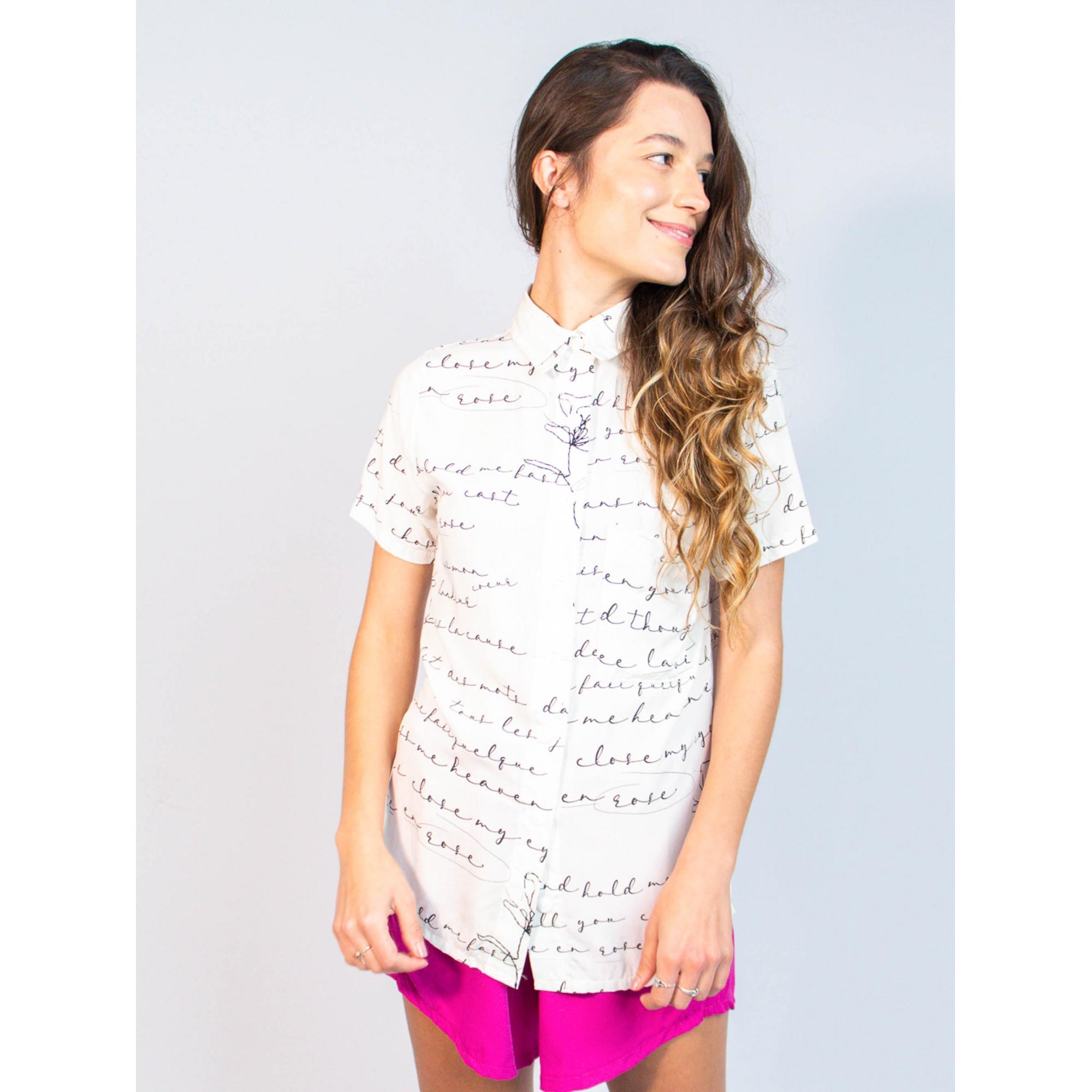 camisa no gender est. la vie