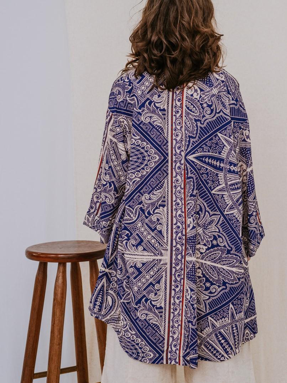 kimono est. lenços