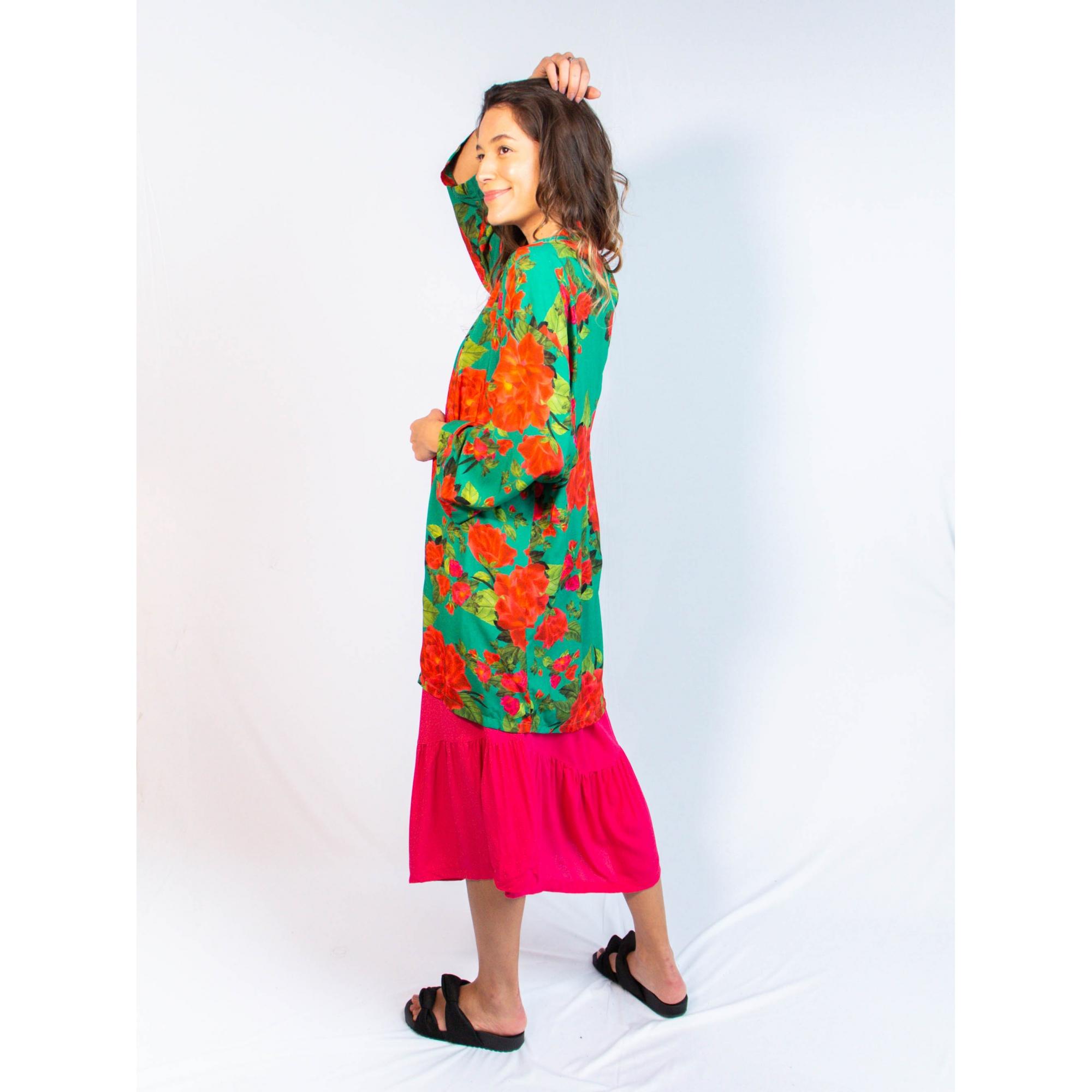 kimono est. rosas