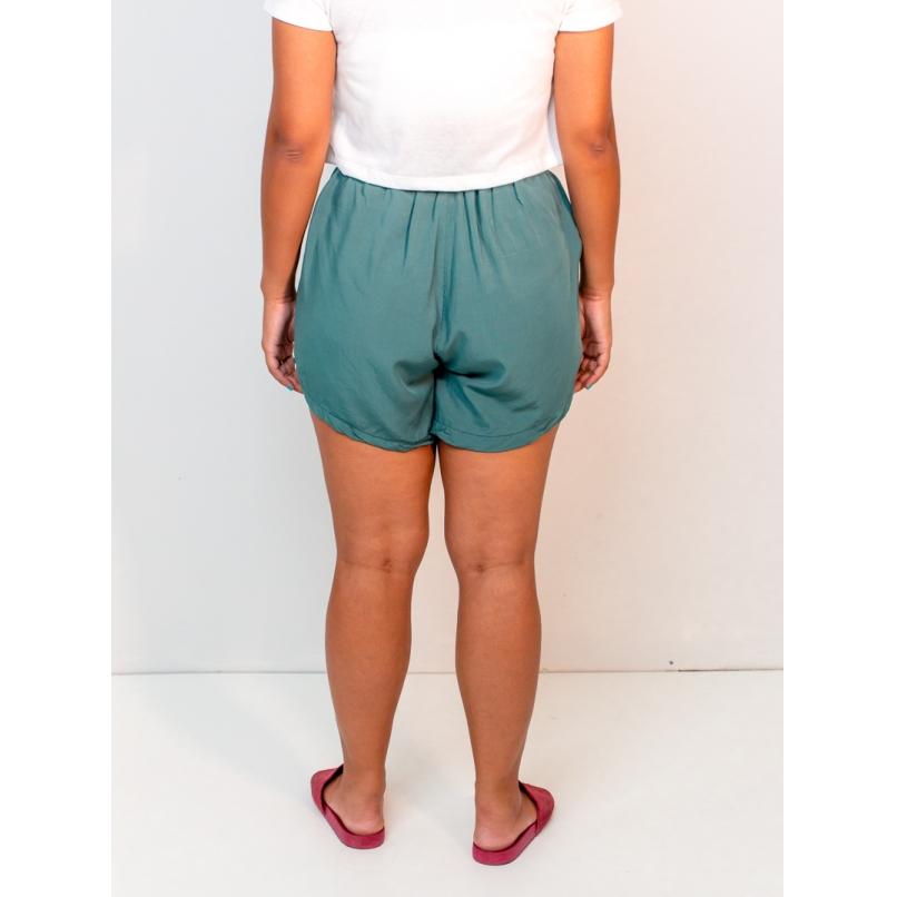 short becca liso verde  - MUDI