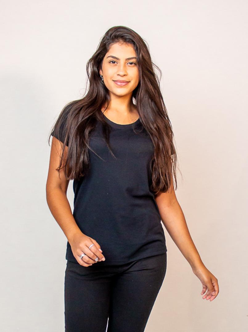 T-shirt Malha Eco - Preto