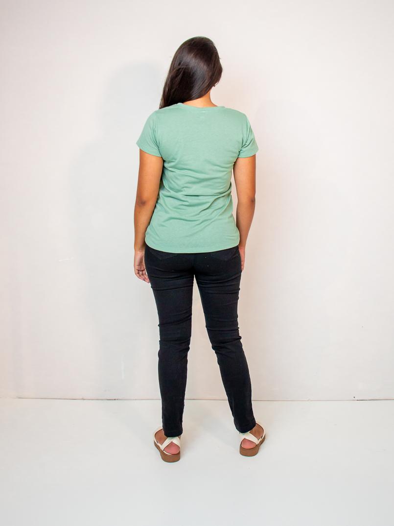 T-shirt Malha Eco - Verde  - MUDI