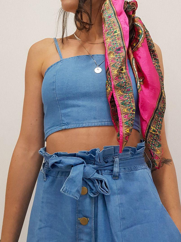 top jeans lastex