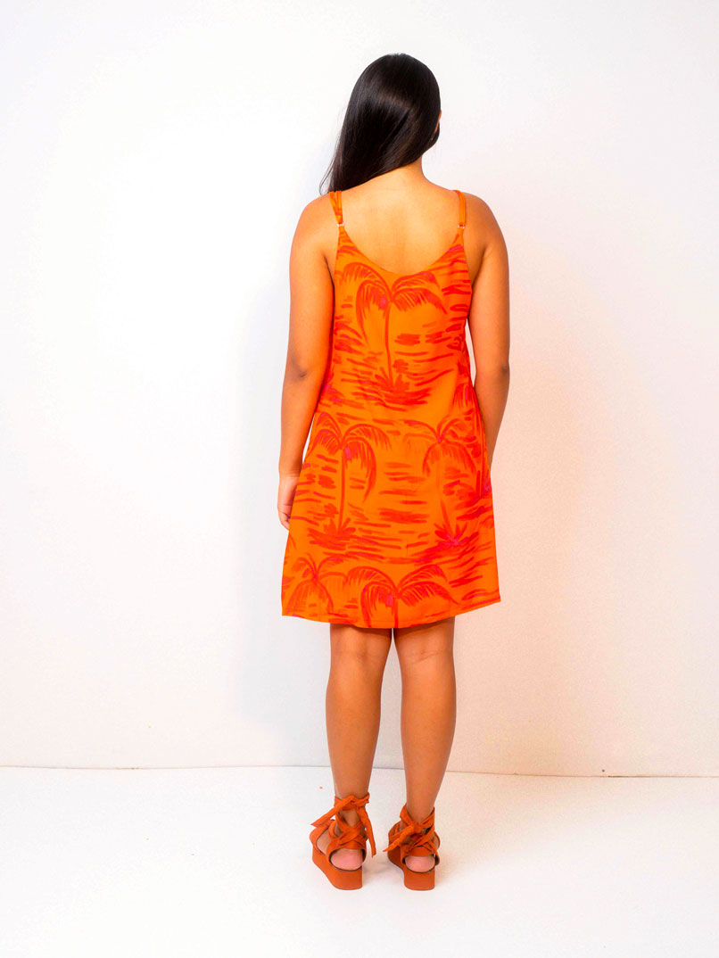 vestido curto est. bubuia