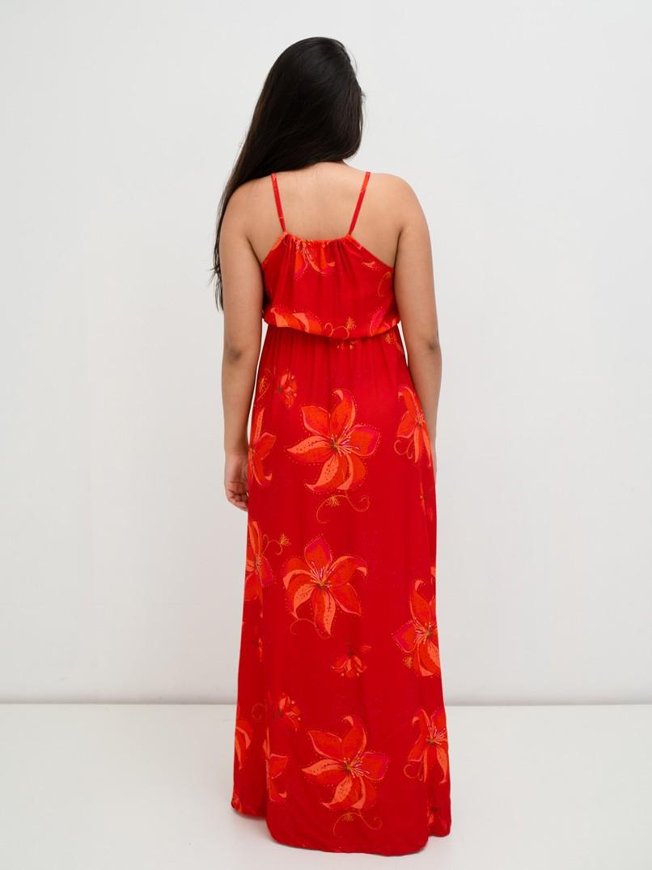 vestido longo eva  - MUDI