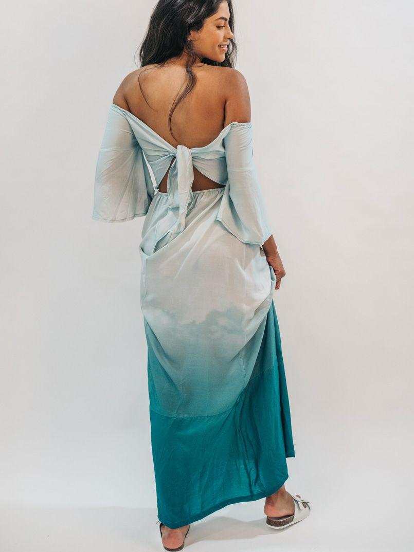 vestido maxi est. nimbus