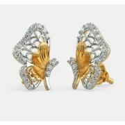 Par de brinco em ouro 18k e diamantes - CÓD - BC01