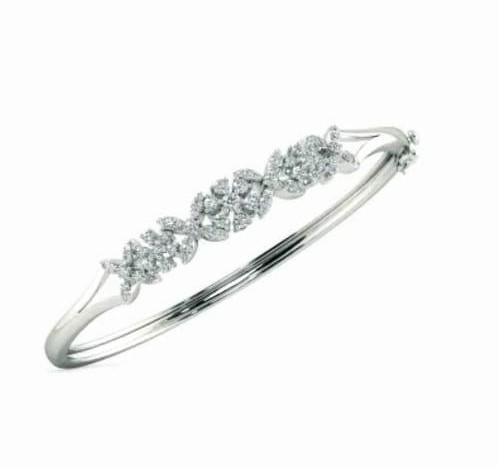 Bracelete em ouro 18k, com esmeralda  e diamantes - CÓDIGO - 11