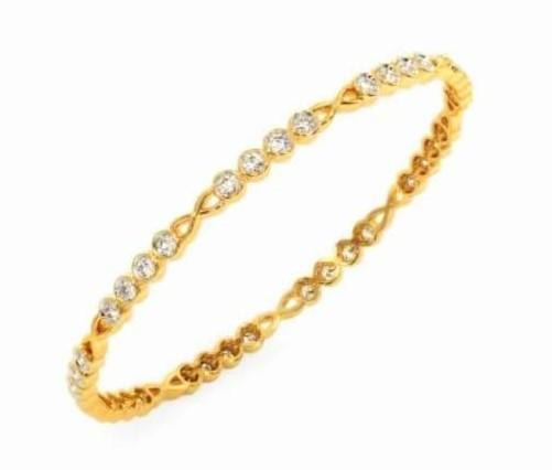 Bracelete em ouro 18k e diamantes - CÓDIGO - 04