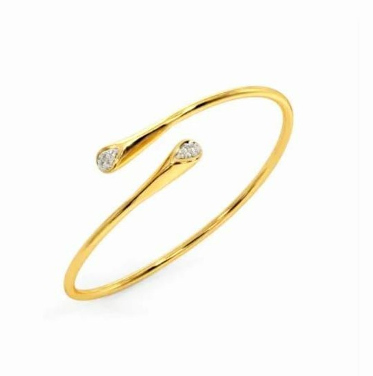 Bracelete em ouro 18k e diamantes - CÓDIGO - 05