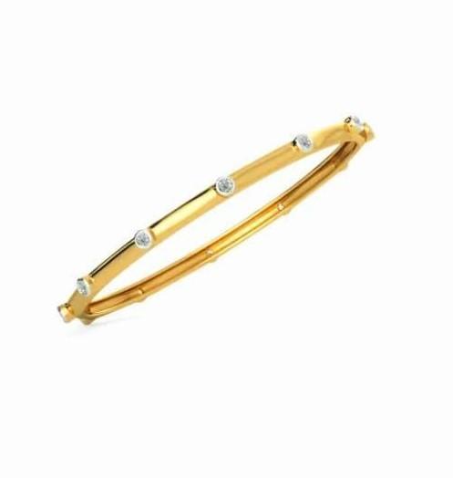 Bracelete em ouro 18k e diamantes - CÓDIGO - 07