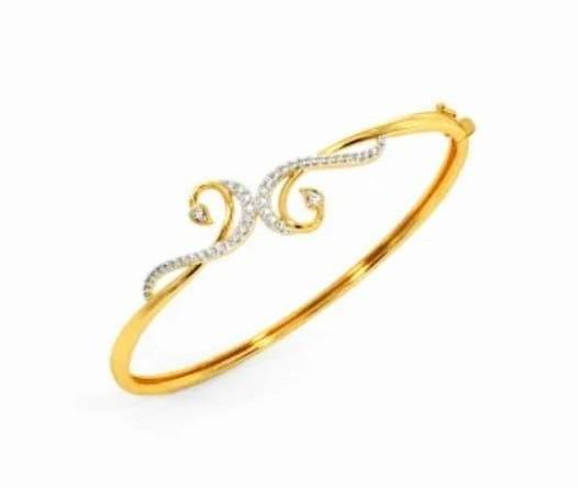 Bracelete em ouro 18k e diamantes - CÓDIGO - 08